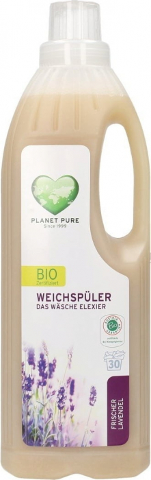Balsam bio pentru rufe -lavanda- 1L Planet Pure [0]