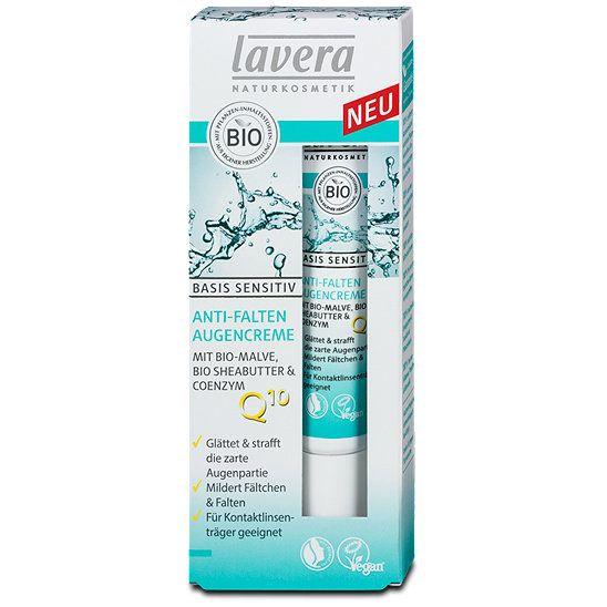 Basis Sensitiv - Crema contur ochi anti-rid, 15ml Lavera 0