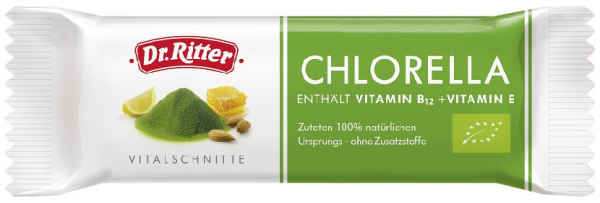 Baton BIO cu chlorella, 40 G Dr. Ritter 0
