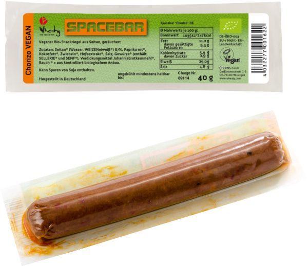 Baton Bio din Seitan Chorizo, 40g Wheaty [0]