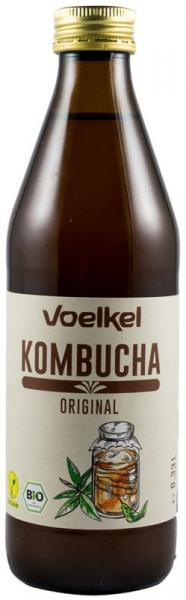 Bautura bio Kombucha original, 330ml VOELKEL 0