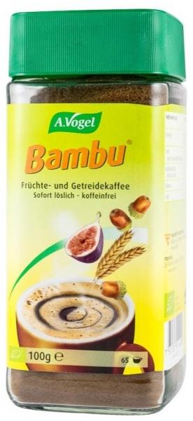 Bautura instant bio din fructe si cereale, inlocuitor de cafea, 100 g, pentru 65 portii Bambu 0