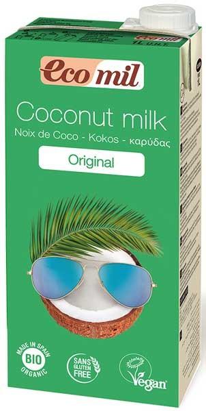 Bautura vegetala Bio de cocos , 1 l Ecomil [0]