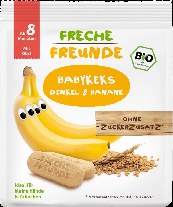 Biscuiti din spelta cu banane bio 100g Erdbar [0]