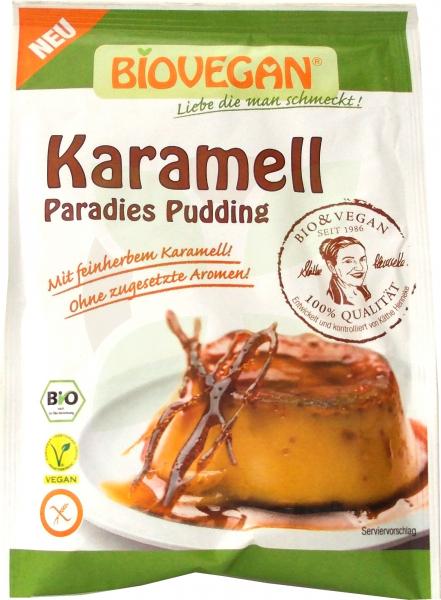 Budinca Bio de caramel, 43 g Biovegan [0]