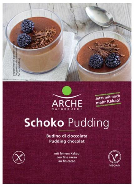 Budinca bio de ciocolata, 50 g Arche Naturküche [0]