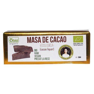 Cacao liquor raw bio 250g 0