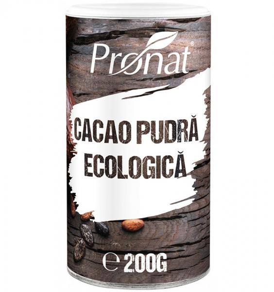Cacao pudra BIO, 200 g 0