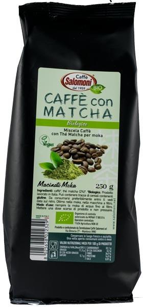 Cafea BIO cu ceai Matcha 250gr Salomoni 0