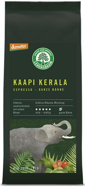 Cafea boabe BIO expresso Kaapi Kerala, 250g LEBENSBAUM 0