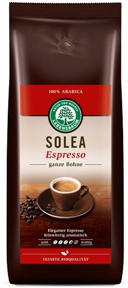 Cafea boabe expresso Solea 100% Arabica, BIO, 1000g LEBENSBAUM 0