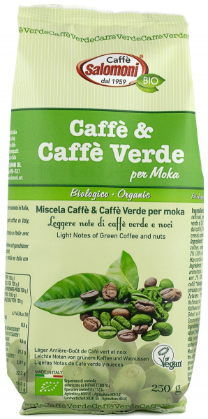 Cafea & Cafea verde BIO - 250 g Salomoni 0