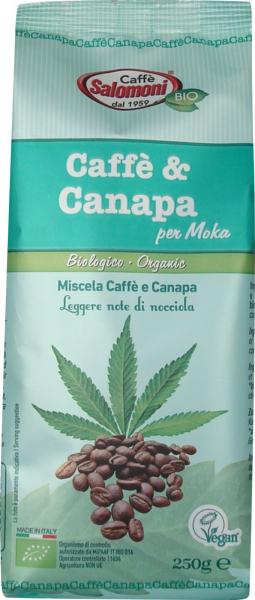 Cafea & Canepa BIO - 250 g Salomoni [0]