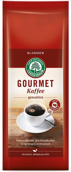 Cafea macinata Gourmet Clasic 100 % Arabica, BIO, 500 g LEBENSBAUM 0