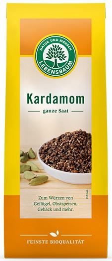 Cardamom BIO - seminte intregi, 50g LEBENSBAUM 0