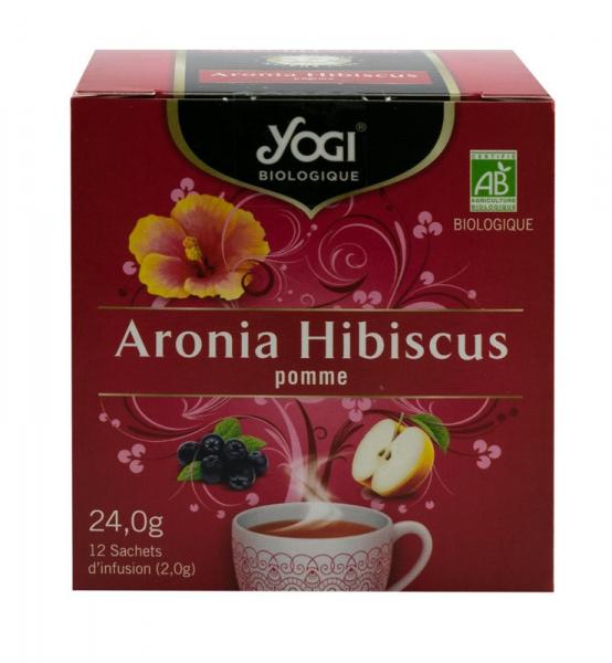 Ceai BIO aronia, hibiscus si mar, 24 g Yogi Tea 0