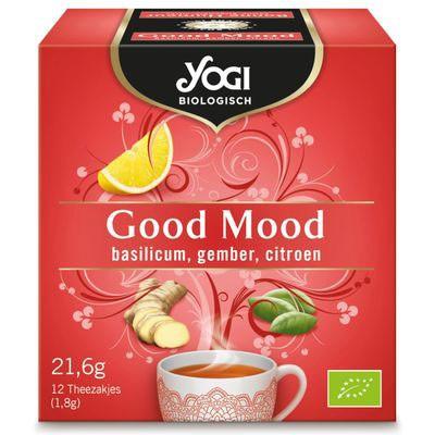 Ceai BIO Buna dispozitie, 21.6 g Yogi Tea [0]