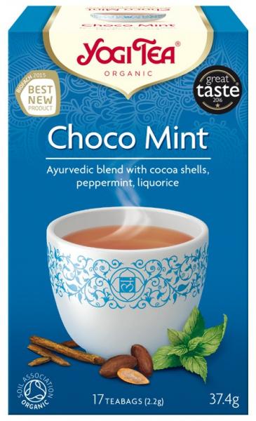 Ceai Bio CHOCO MINT - CACAO si MENTA, 37.4g Yogi Tea 0