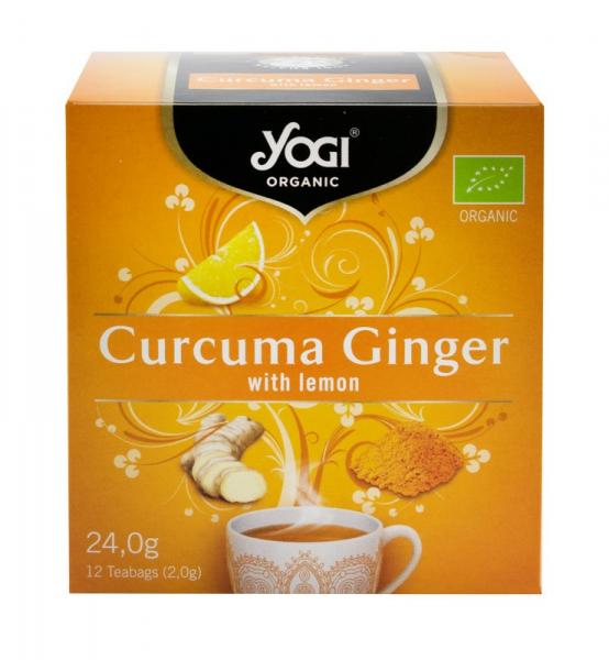 Ceai BIO curcuma, ghimbir si lamaie, 24 g Yogi Tea 0