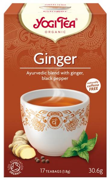 Ceai Bio de Ghimbir, 30.6gr Yogi Tea [0]