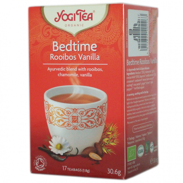 Ceai BIO de seara cu Rooibos si Vanilie, 30.6gr Yogi Tea [0]
