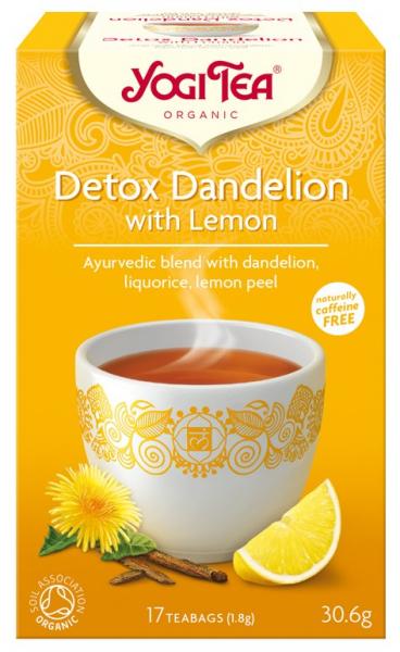 Ceai Bio Detox cu Lamaie, 30.6 g Yogi Tea [0]