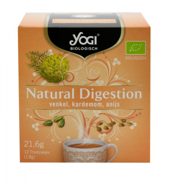 Ceai BIO Digestie naturala, 21,6 g Yogi Tea 0