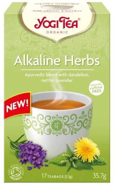Ceai BIO din plante alcaline, 35,7 g Yogi Tea 0