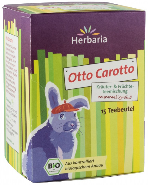 Ceai bio din plante si fructe OTTO CAROTTO, 15x2G Herbaria 0