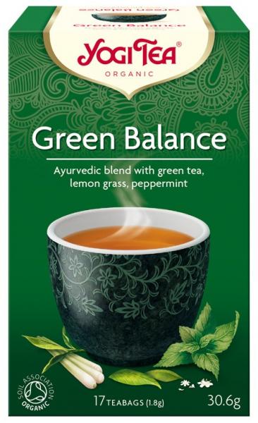 Ceai Bio ECHILIBRU VERDE, 30.6g Yogi Tea 0