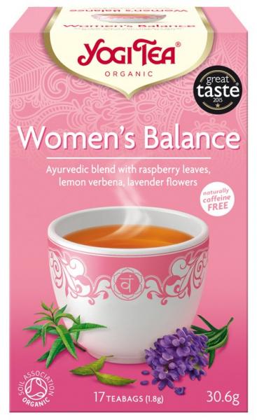 Ceai Bio ECHILIBRUL FEMEILOR, 30.6g Yogi Tea 0