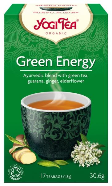 Ceai Bio ENERGIE VERDE, 30.6g Yogi Tea [0]