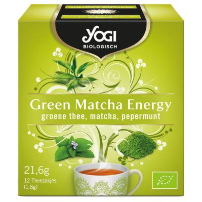 Ceai BIO Green Matcha Energy, 21,6g Yogi Tea 0