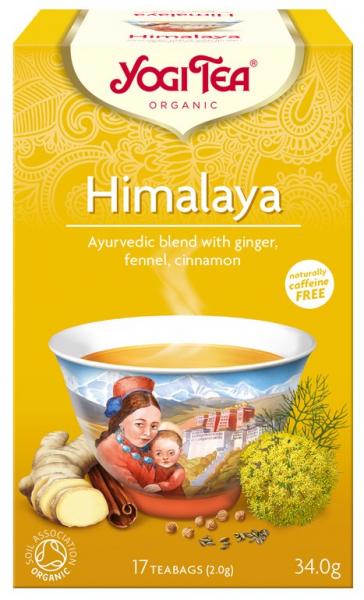 Ceai Bio HIMALAYA, 34 g Yogi Tea [0]