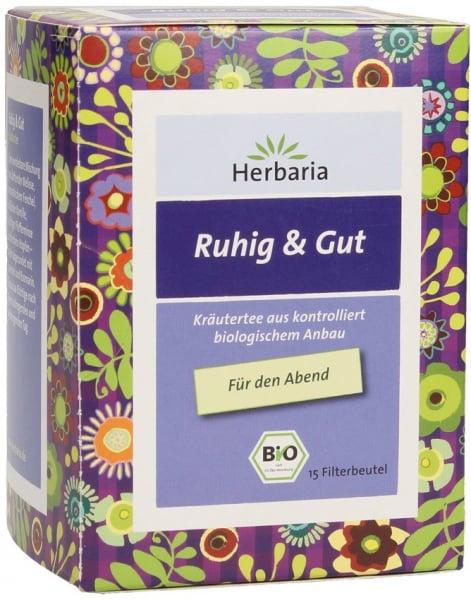 Ceai bio liniste si pace, 15X1,6 g Herbaria 0