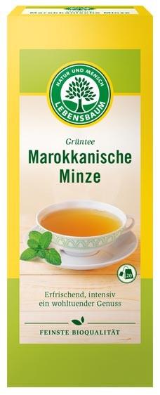 Ceai bio marocan cu menta, 20 plicuri x 2g, 40g LEBENSBAUM 0