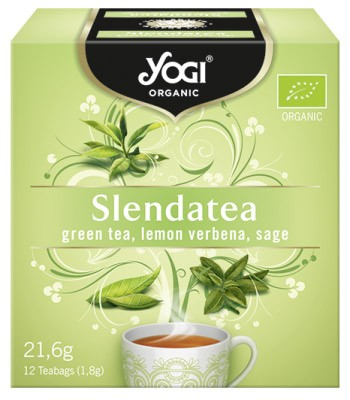 Ceai BIO silueta perfecta cu ceai verde, lamaita si salvie, 12 plicuri - 21,6g Yogi Tea 0