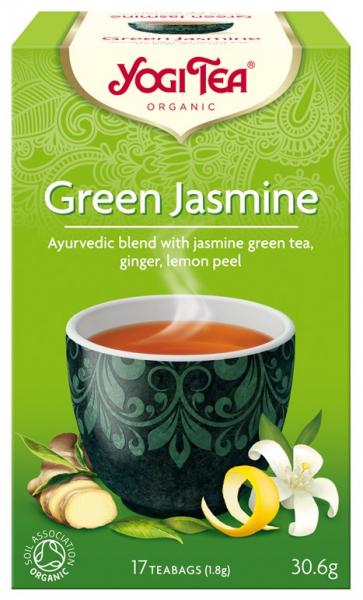 Ceai Bio VERDE cu IASOMIE, 30.6g Yogi Tea 0