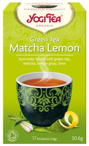 Ceai Bio VERDE Cu MATCHA SI LAMAIE, 30.6g Yogi Tea 0