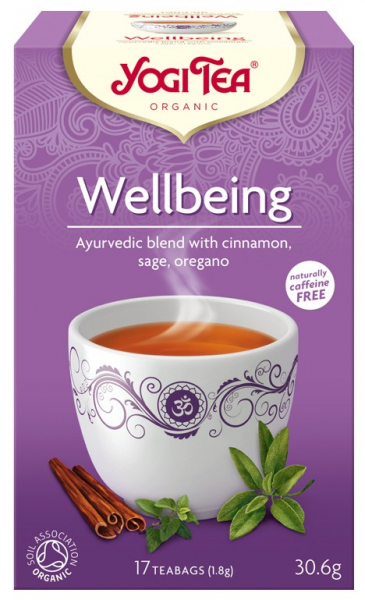 Ceai Bio WELLBEING - Mereu Tanar, 30.6gr Yogi Tea [0]