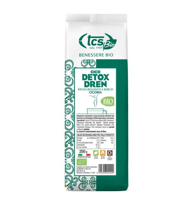 Cico detox dren - infuzie bio pe baza de cicoare, 250G SALOMONI [0]