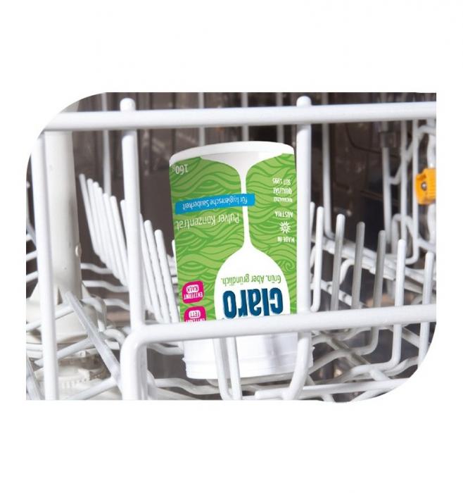 CLARO - pulbere concentrata pentru intretinerea masinii de spalat vase, 160G CLARO [4]