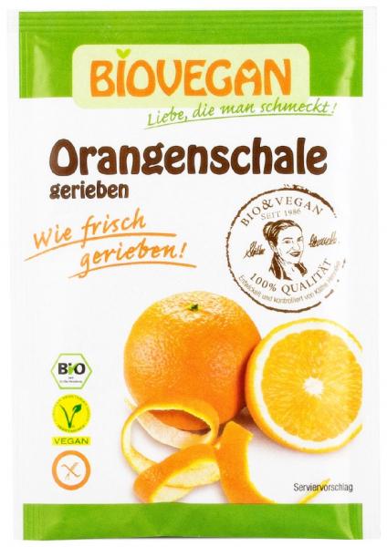 Coaja de portocala Bio rasa, 9 g Biovegan 0