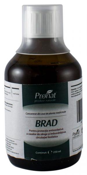 Concentrat din plante medicinale BRAD 250 ml Medicura [0]