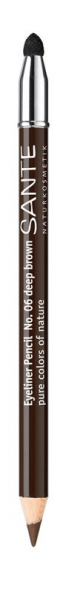 Creion contur  ochi, nuanta 06 Maro Inchis, 1.1 g Sante 0