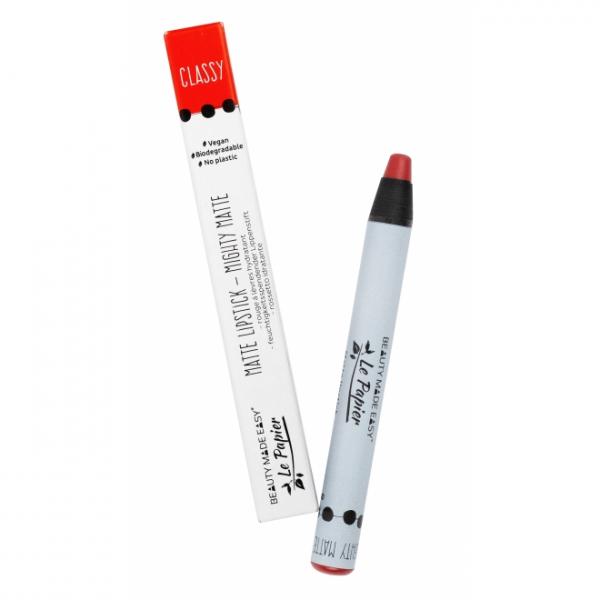 Creion - ruj hidratant mat, CLASSY, zero plastic,  6 g 0