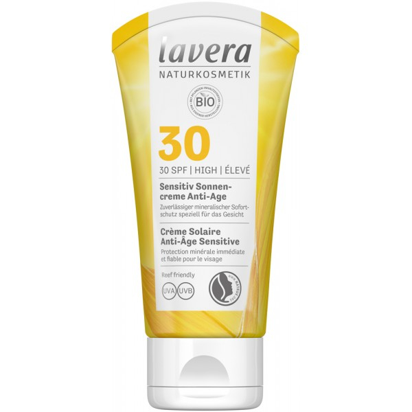 Crema bio sensitive ageing cu protectie solara LSF 30, 50ml 0