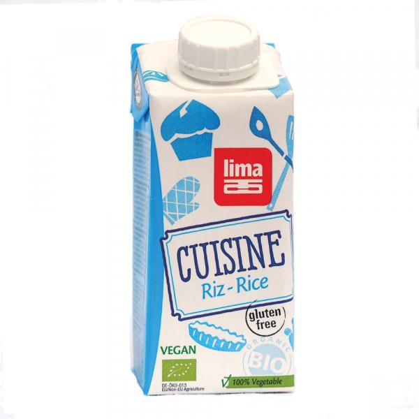 Crema de orez bio 200ml - inlocuitor pentru smantana 0