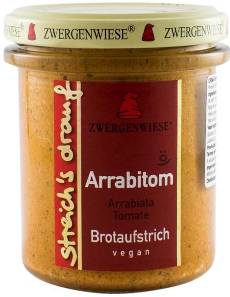 Crema tartinabila BIO vegetala Arrabitom, 160 g ZWERGENWIESE 0