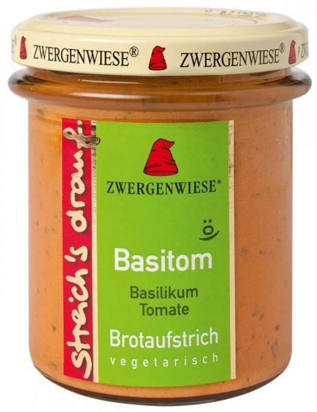 Crema tartinabila BIO vegetala Basitom, 160 g ZWERGENWIESE 0